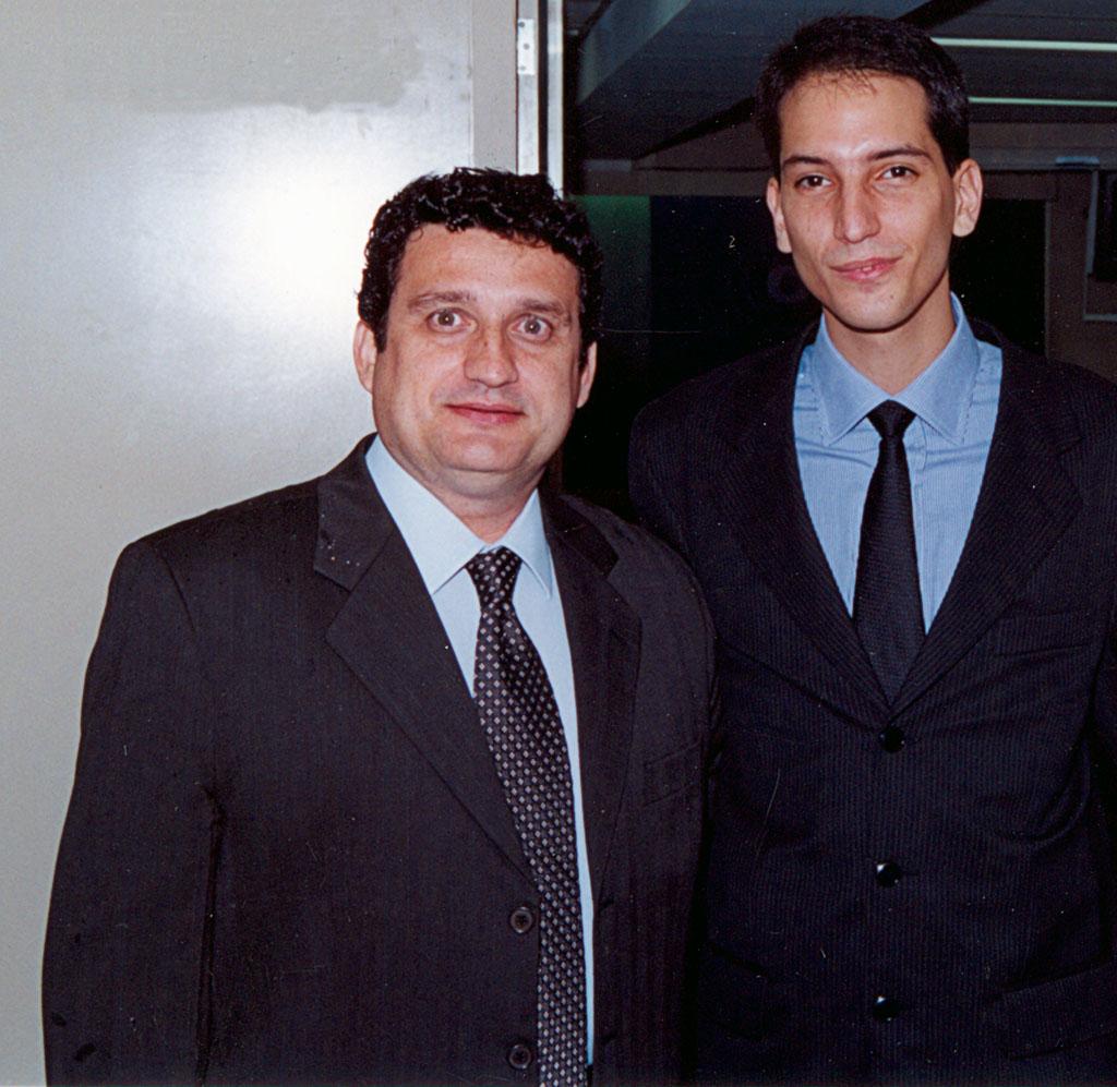 Ricardo Reinprecht e Gabriel Torres