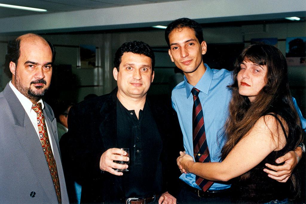 Romero Portella, Ricardo Reinprecht, Gabriel Torres e Gisella Narcisi Reinprecht